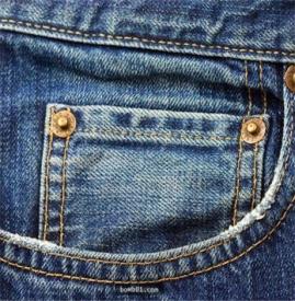 牛仔裤上的小口袋是装什么的 存在就一定有道理~