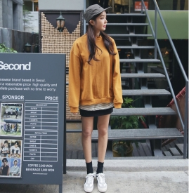 新款韩版卫衣女装 换个美LOOK好心情