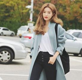 韩版中长发发型图片 选择来扮美准没错