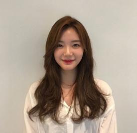 韩式微卷中长发 带一点微卷效果更洋气