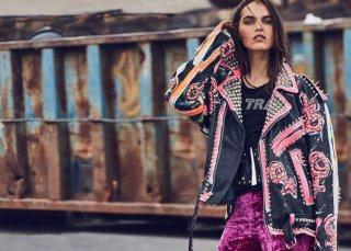 模特Lily Stewart演绎《Harper'sBazaar》土耳其版时尚杂志大片