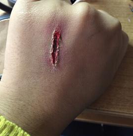 画小伤口详细教程 万圣节必学伤口特效妆
