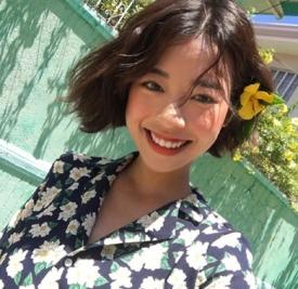 中分短发烫发韩范图片 全是韩国小姐姐大爱款