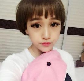 2017蘑菇头发型女图片 可爱蘑菇头真减龄