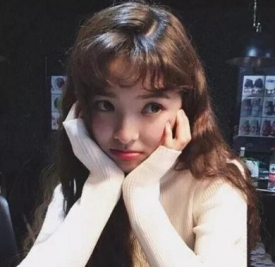 韩国刘海发型图片 小姐姐独爱气质卷刘海