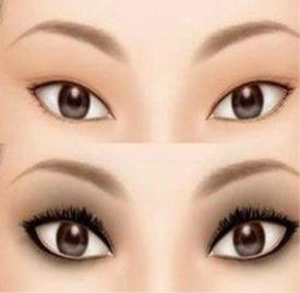 单眼皮化妆技巧 单眼皮化妆教程看过来