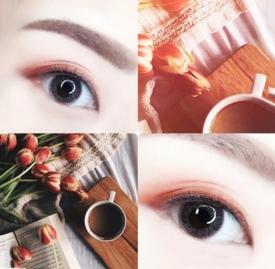 红棕色眼影的画法 如同冬日里的一杯奶茶