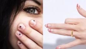 极简风格的美甲图片 指尖上的fashion