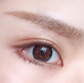 tf四色眼影01的画法 简单大地色眼妆