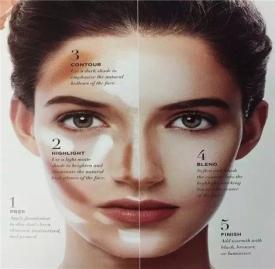 不同脸型的化妆技巧  四种脸型的化妆方法介绍