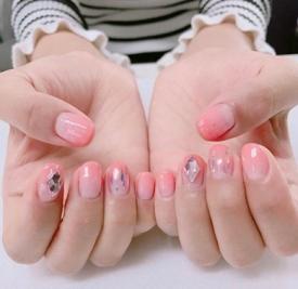 美甲图片粉色款式图片 带你少女心爆棚