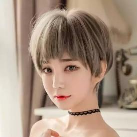 女生减龄发型图片 现在流行这几款减龄显脸小