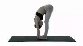 一个瑜伽动作瘦腰腹 懒女人也能轻松瘦身啦