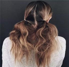 女生中长发扎法 四款适合中长发女生的发型