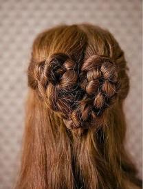 好看的编发图片 仙女姐姐也爱的编发发型