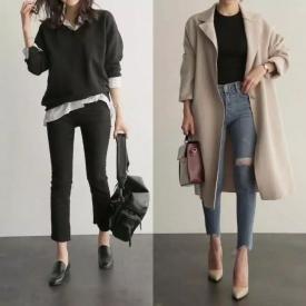 不同风格的秋冬搭配 照着穿这个冬天就美翻