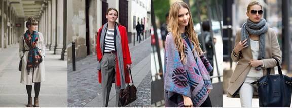 7种围巾围法 冬天这样围既保暖又时尚