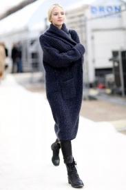针织开衫怎么搭配 初冬这样穿才够时髦
