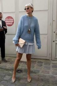 秋冬毛衣怎么穿搭 赶紧来get毛衣的一百种搭配吧