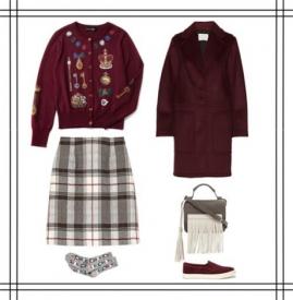 卫衣搭配   秋冬季穿衣搭配图片