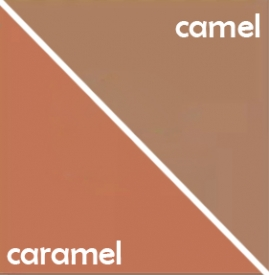 焦糖色和驼色的区别 两个大地色系的宠儿你分清楚了吗