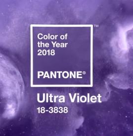 Pantone2018流行色 这个紫色美不胜收