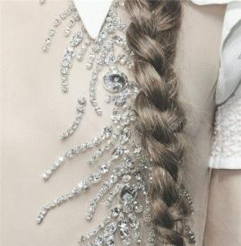 长发编发简单好看    快学着编个美腻的发型才能撩个汉子回来啊