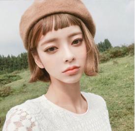 韩系短发发型图片 好清新好甜美