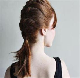 女生短发怎么编好看 这几款短发编发好看极了