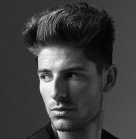 男生头发软化前后效果图 男生也需要护理头发