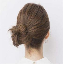 短发丸子头扎法图解 短发丸子头怎么扎漂亮