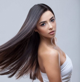 直头发如何扎简单好看 只需五步即可搞定