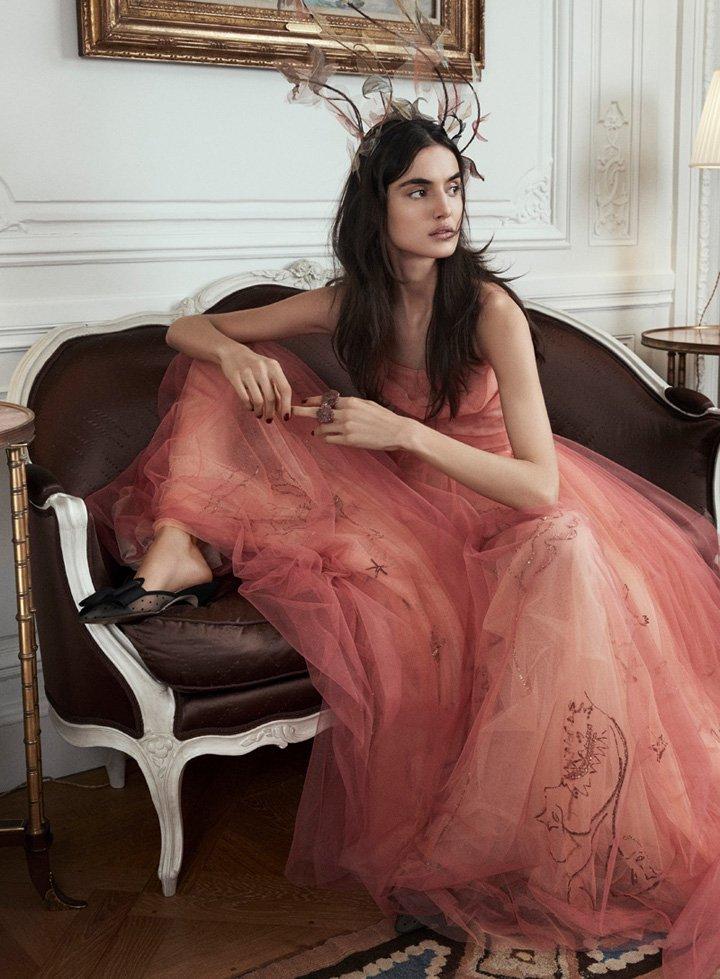 超模Blanca Padilla时尚杂志写真图
