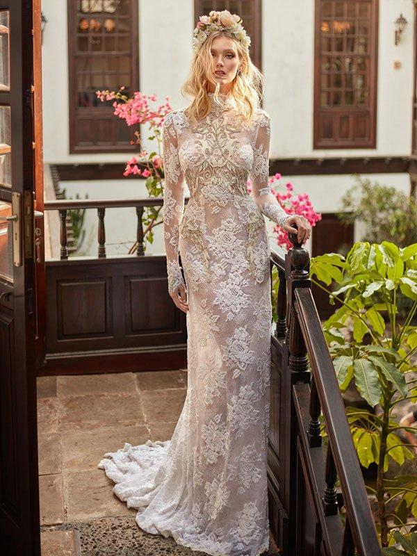 Galia Lahav2018婚纱系列大片 以色列婚纱品牌婚纱欣赏