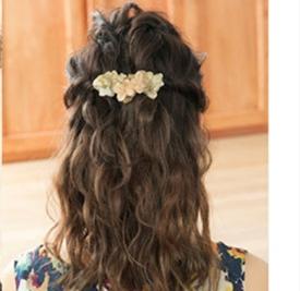 甜美发型扎法 气质发型扎法