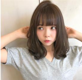2019女生齐肩流行发型