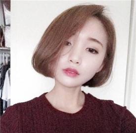 圆脸短发发型2019