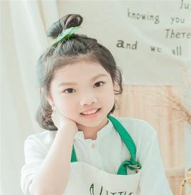 小女孩可爱发型图片