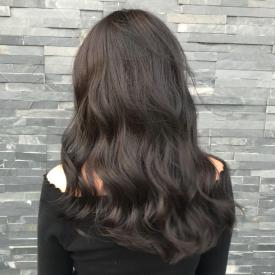 棕灰色头发图片 2019棕灰色发色