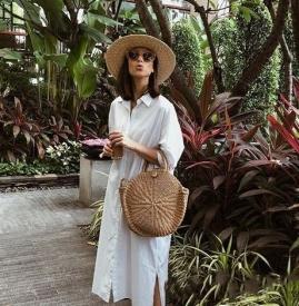 白色连衣裙配什么鞋子 白色连衣裙配鞋子图片