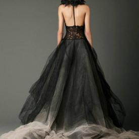 黑色婚纱的寓意是什么 黑婚纱代表什么