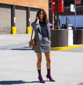 超短裤裙怎么搭配 超短裤裙怎么搭配图片