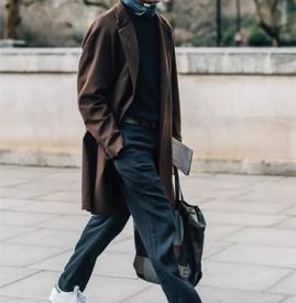 男士秋冬大衣怎么搭配好看 寒冷不臃肿型男必备的温暖