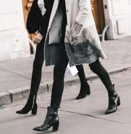 秋冬女生短靴与配什么裤子 秋冬女生短靴怎么搭配衣服