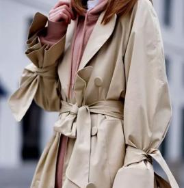 大衣和卫衣怎么搭配好看 冬天大衣里面搭配什么