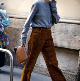 灯芯绒裤子显瘦吗 灯芯绒的裤子显胖吗
