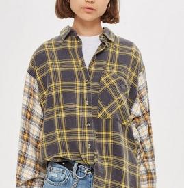 格纹衬衫搭配什么颜色 格纹衬衫搭配暖色