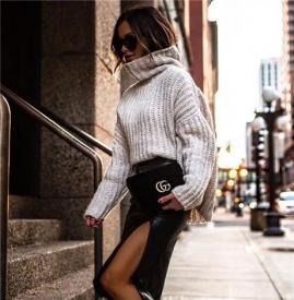 冬天穿什么毛衣好看 今年冬天流行什么毛衣