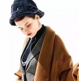 穿大衣配什么帽子 呢子大衣搭配什么帽子