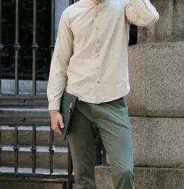 男士卡其色衬衫搭配 卡其色的衬衫怎么搭配